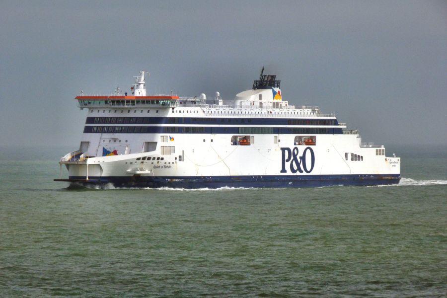 Calais-Dover en overtocht over de Ierse Zee